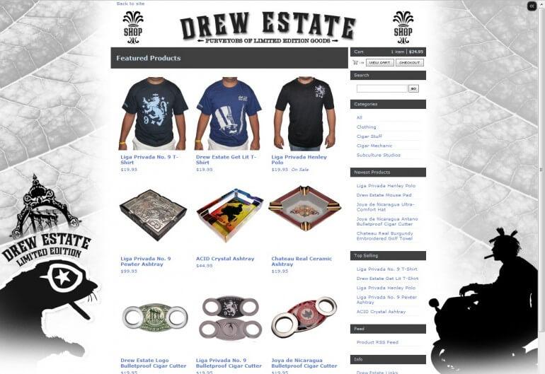 drew estate online store