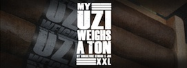 My UZI Weighs A Ton Cigars