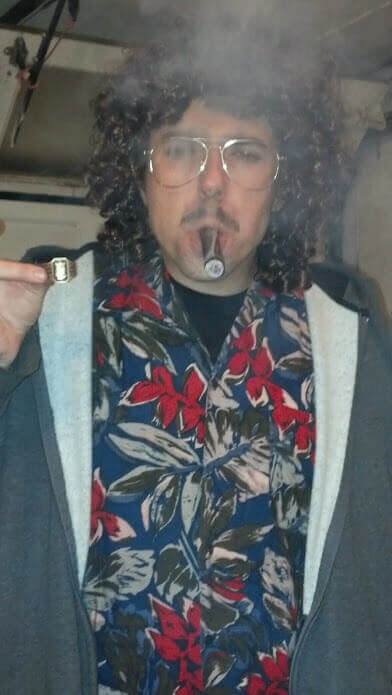 Weird Al gettin' down with the Undercrown