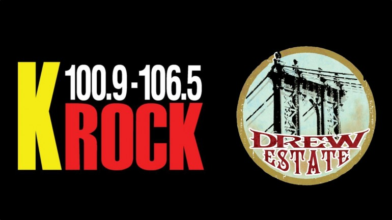 Drew Estate on KROCK's The Show Morning Show