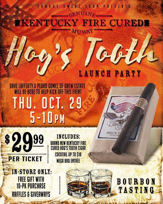 hogs tooth event flyer