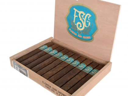 Drew Estate Announces the Shipping of the Florida Sun Grown Limited Edition Trunk Press Toro