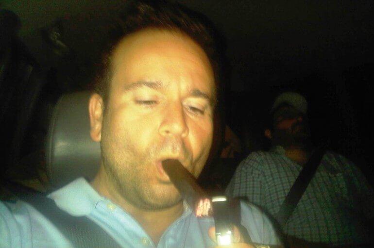 marvin samel smoking cigar