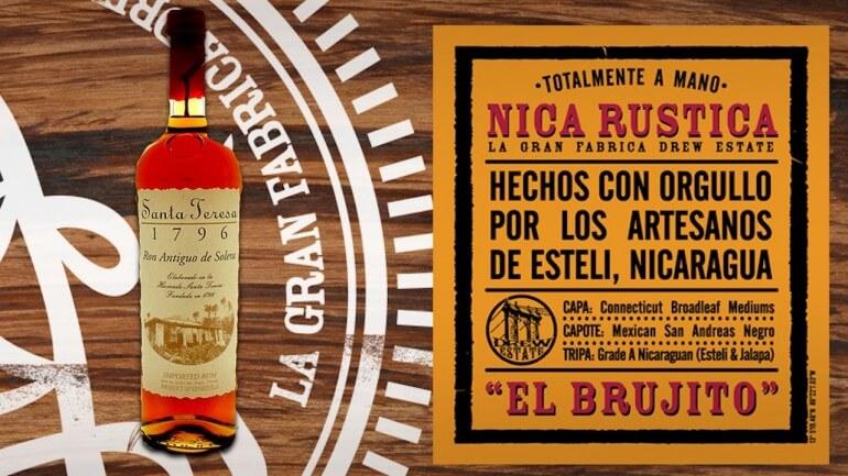 Drew Estate Nica Rustica Cigar and Santa Teresa 1796 Rum   Drew Estate Pairings Episode 12