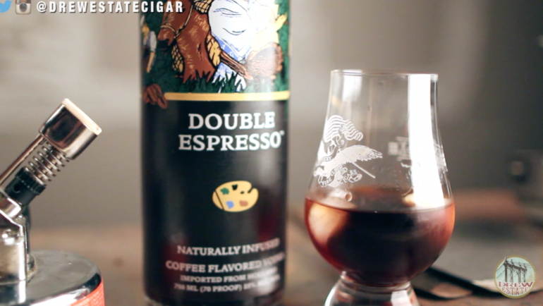 Van Gogh Double Espresso Vodka and Tabak Especial Corona | Drew Estate Pairings Episode 18
