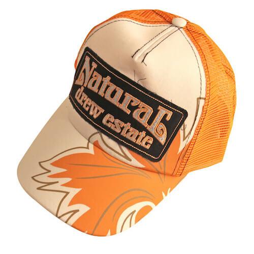 natural trucker hat