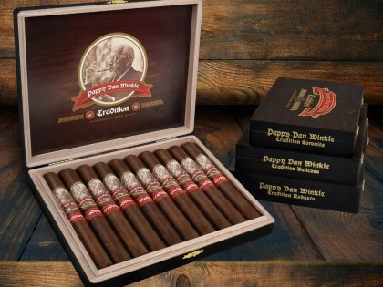 Drew Estate Ships Annual Release of the Pappy Van Winkle Tradition