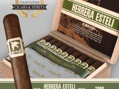 Herrera Esteli Norteno Toro Soars with a 94 Rating from Cigars & Spirits Magazine