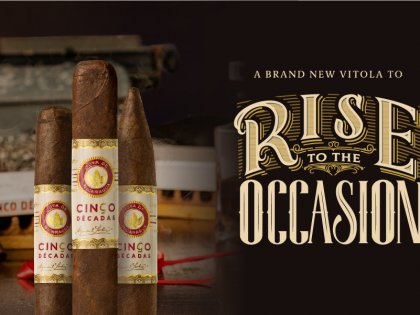 Paying tribute to the visionary businessmen that started all. Introducing Cinco Décadas Fundador: the smoke to rise to the occasion