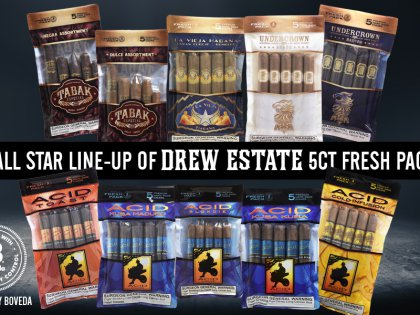 Drew Estate Announces Humidified 5 Packs