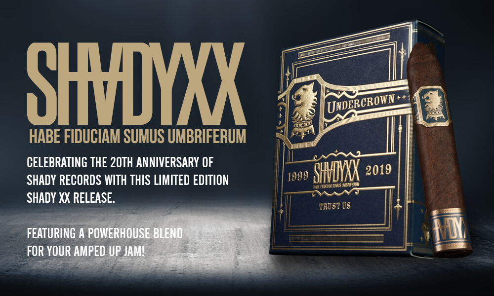 Paul Rosenberg + Drew Estate = Undercrown ShadyXX - Drew Estate