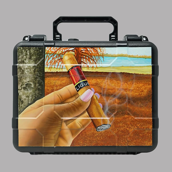 Acid Liquid Travel Humidor1129