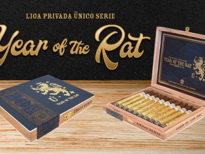 Drew Estate Launches Liga Privada Unico Year of the Rat to Celebrate Chinese New Year