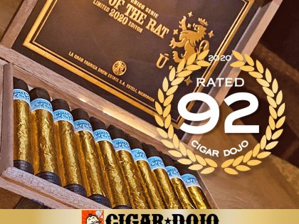 Cigar Dojo Gives Liga Privada Unico Year of the Rat a 92 rating and Reviews It Live on A-Z: A Flavor Odyssey!