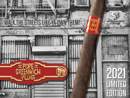 """Drew Estate Announces the Return of """"Pope of Greenwich Village"""" for Smoke Inn"""