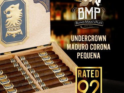 Blind Man's Puff Gives Undercrown Maduro Corona Pequena A 92