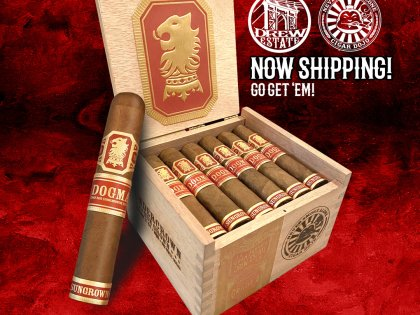 Drew Estate Shipping 2021 Undercrown Dojo Dogma Limited Editions